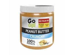 GO ON Arašídové máslo s kousky arašídů 470 g