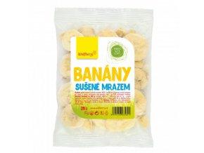 Wolfberry Banány - plátky sušené mrazem 20 g