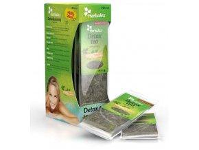 Herbalex - detoxikační čaj s ženšenem 10 ks + 40% ZDARMA