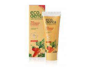 zubni pasta s jahodovou prichuti pro deti wild strawberry scented toothpaste for children 75 ml
