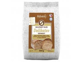 Adveni Bezlepkový DELIKATES chléb se směsí semínek 500 g