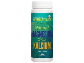 Natural Vitality Calm Magnesium Plus Calcium 226 g