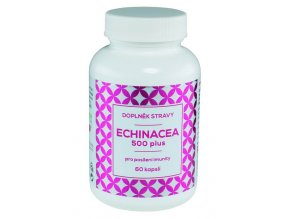 Naturvita Echinacea 500 plus 60 kapslí