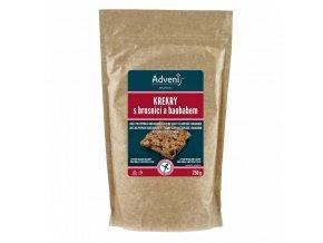 Adveni Krekry s brusnicí a baobabem 250 g