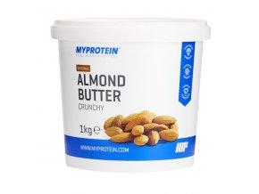 MyProtein Mandlové máslo crunchy (křupavé) 1000 g
