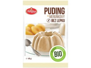 Amylon Bio Puding meruňkový bez lepku 40 g