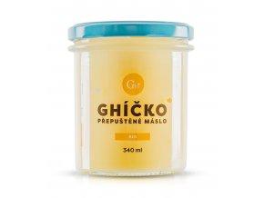 České ghíčko BIO Ghí - přepuštěné máslo 340 ml