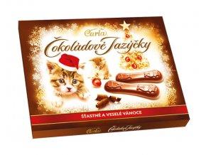 Carla Čokoládové jazýčky s mléčnou čokoládou 100 g