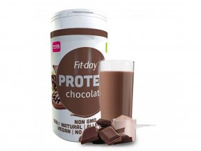 Fit-day Protein čokoláda 600 g