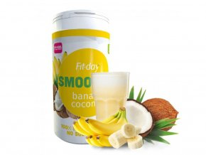 Fit-day Smoothie banán-kokos 600 g