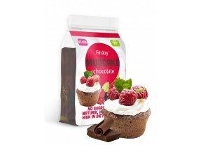 Fit-day Hrnkový proteinový koláč -  čokoládový 600 g