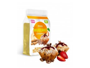 Fit-day Mrkvový proteinový koláč - skořicový 600 g