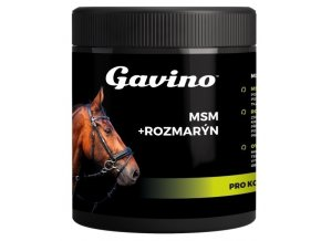 Gavino MSM + Rozmarýn pro koně 500 g DMT: 10.10.2018