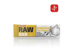 Nutrend Raw Bar Fík + papája 50 g