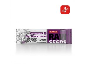 Nutrend Raw Seeds Bar Fík + černý jeřáb 50 g