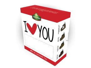 VeltaTea Love 3D lisovaný čaj - I Love You 8 ks