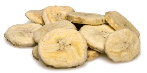 K-Servis Banán - plátky sušené mrazem 1000 g