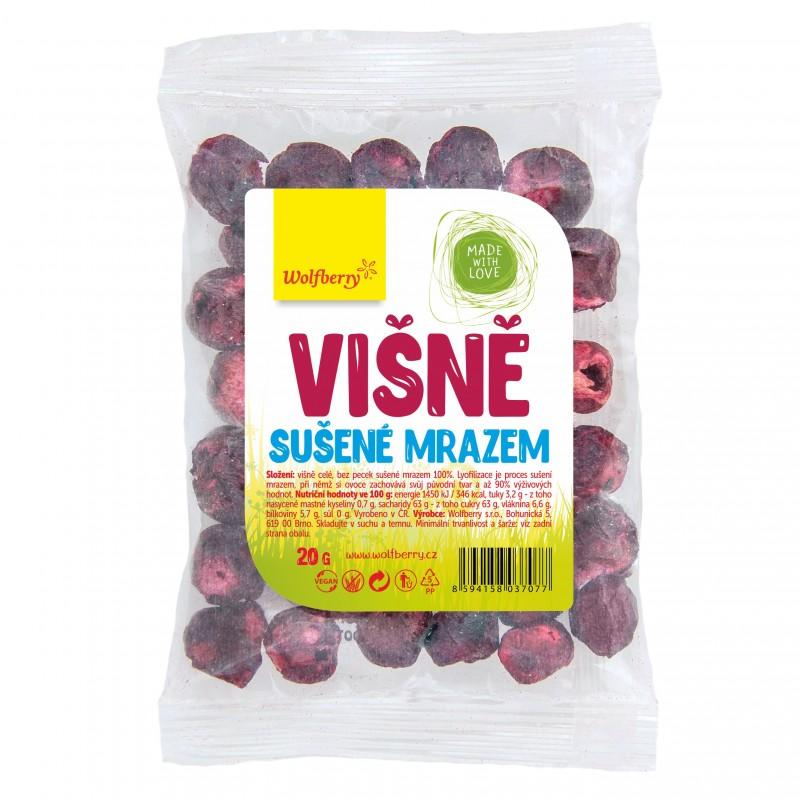 Wolfberry Višně - celé sušené mrazem 20 g