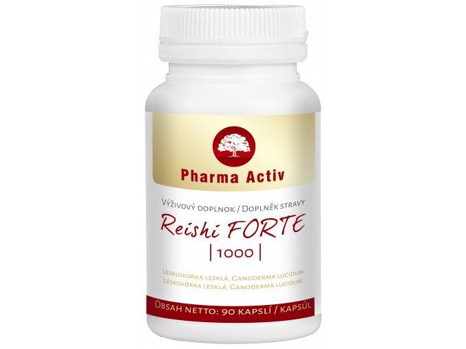 Pharma Activ Reishi Forte 1000mg 90 kapslí