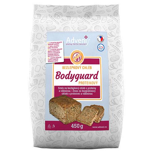 Adveni Bezlepkový chléb BODYGUARD s proteiny a vlákninou 450 g