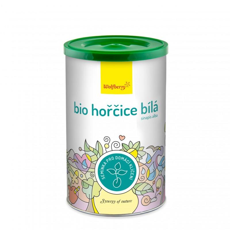 Wolfberry BIO semínka na klíčení Hořčice bílá 200 g