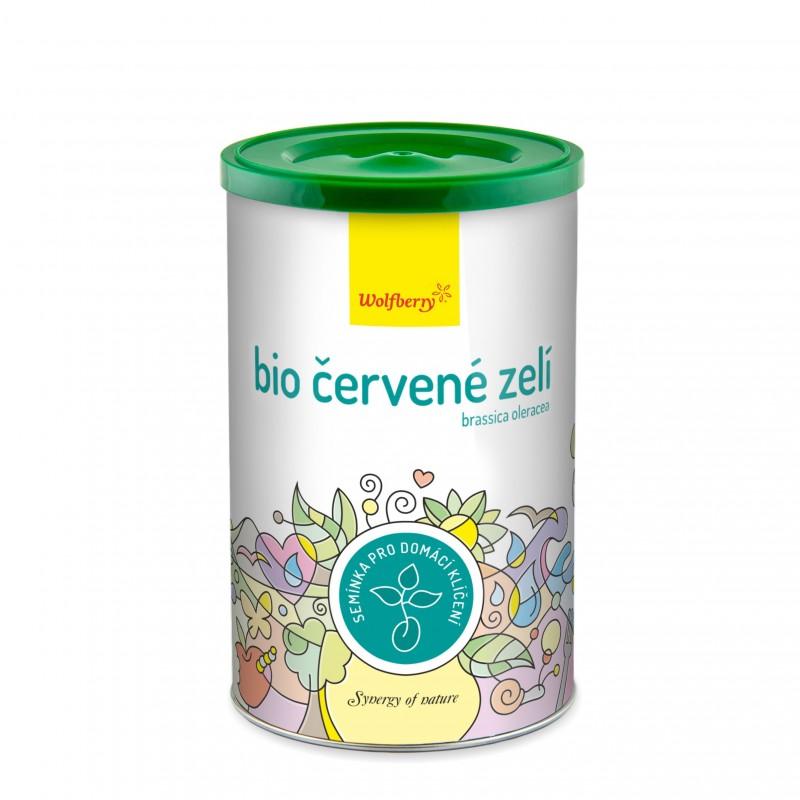 Wolfberry BIO semínka na klíčení Červené zelí 200 g