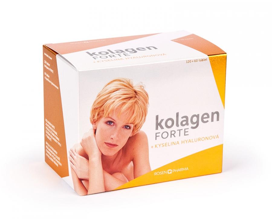 Rosenpharma Rosen Kolagen Forte 120 tbl. + Kyselina hyaluronová 60 tbl.