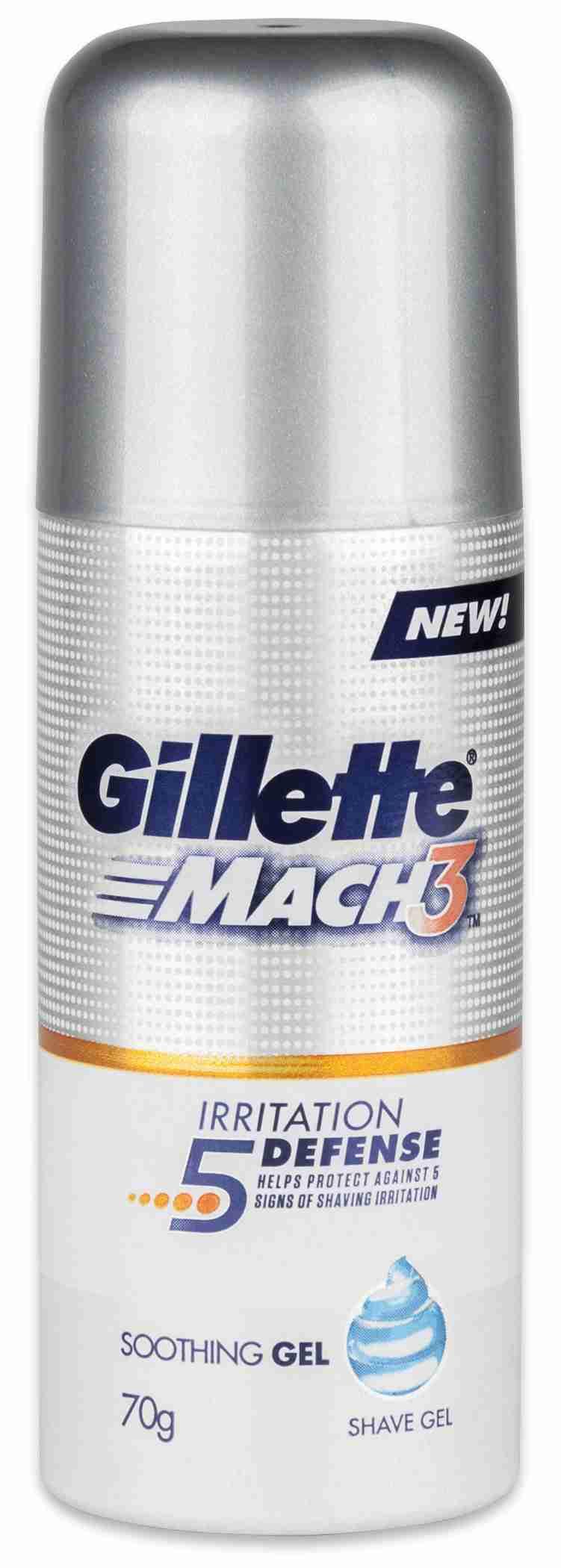 Gillette Series Gel na holení pro podrážděnou pokožku 70 g