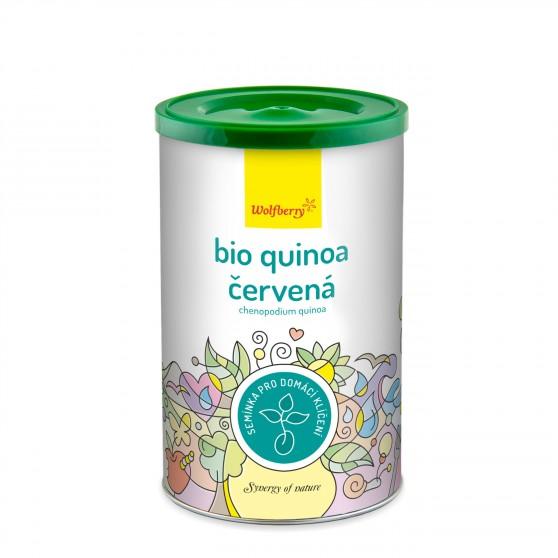 Wolfberry BIO semínka na klíčení Quinoa červená 200 g