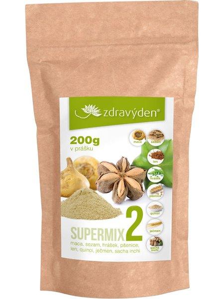 ZdravýDen® Supermix 2 (maca, sezam, len, hrášek, pšenice, quinoa, ječmen a sacha inchi) 200 g