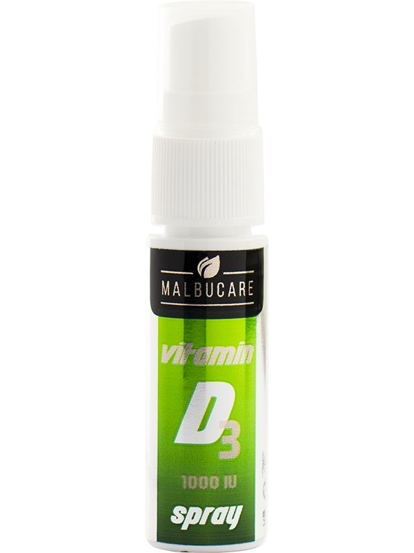 Malbucare Vit D3 1000IU spray 15 ml