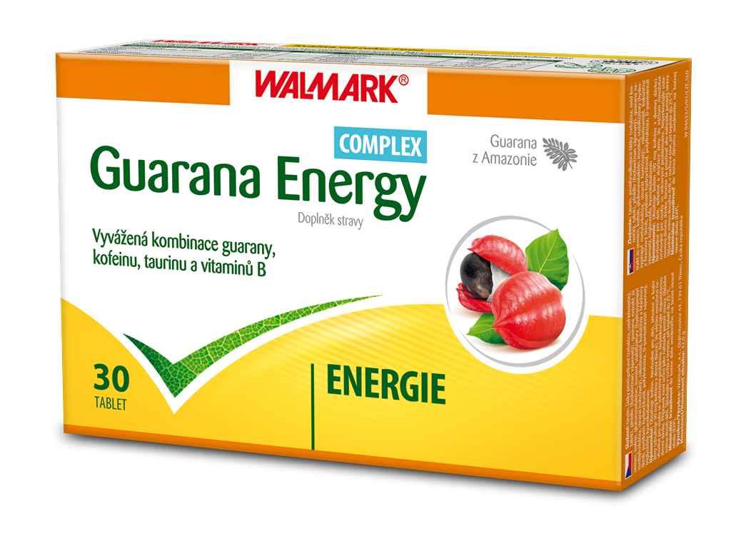 Walmark Guarana Energy COMPLEX 30 tbl.