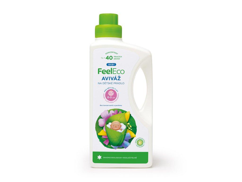 Feel Eco Aviváž na dětské prádlo Baby 1 l