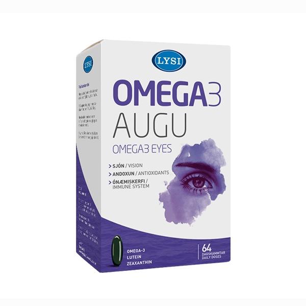 Lýsi Omega 3 pro zdravé oči 64 kapslí
