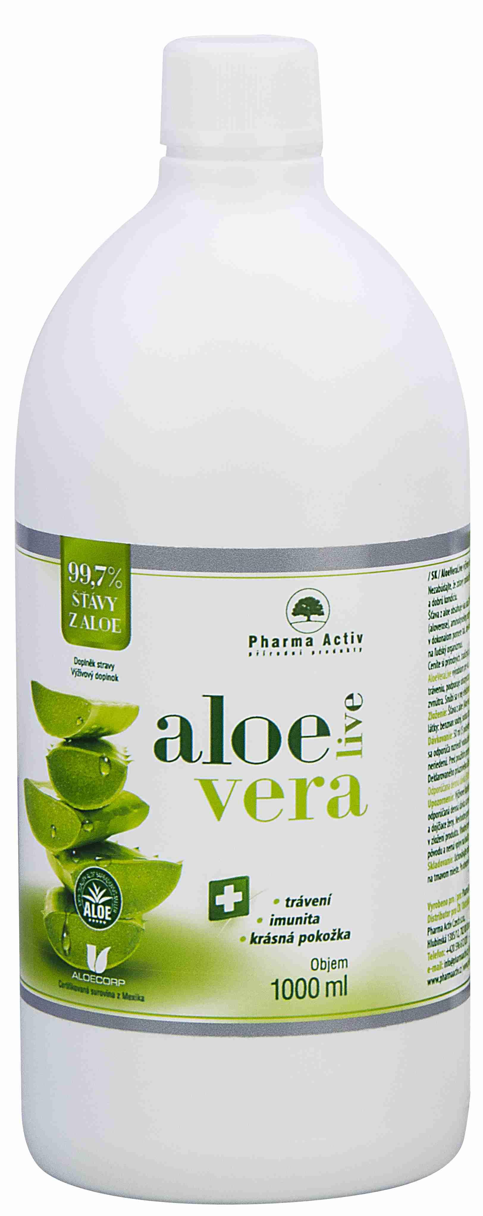 Pharma Activ AloeVeraLive 1000 ml