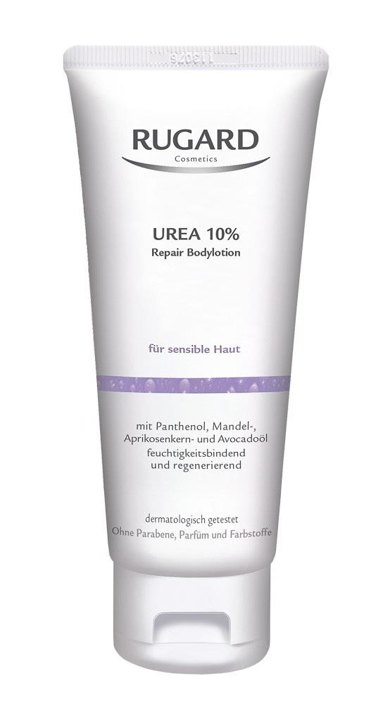 Rugard Urea 10 % Regenerační tělové mléko 200 ml