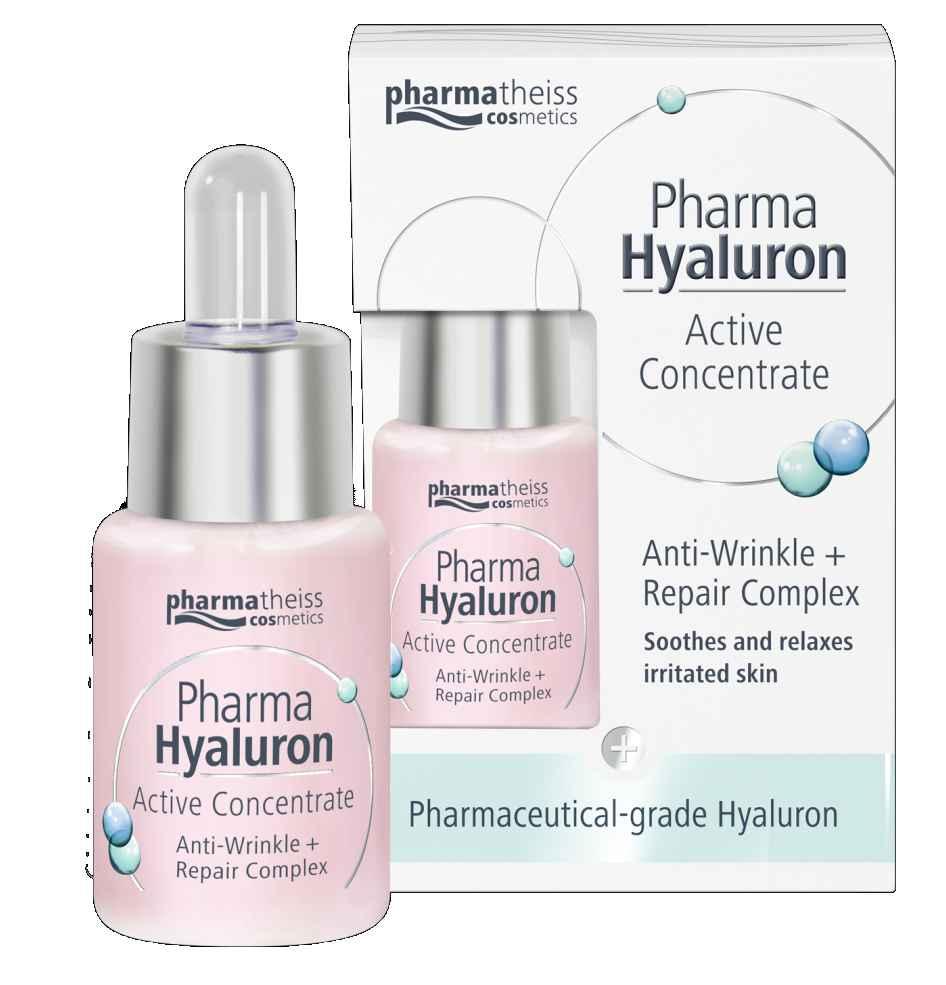Pharmatheiss Pharma Hyaluron koncentrát proti vráskám se zklidňujícím účinkem 13 ml