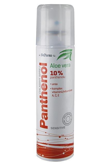 MedPharma Panthenol 10 % Sensitive chladivý sprej 150 ml