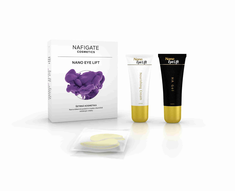 Nafigate Podoční maska Nano Eye Lift (3 páry + 1 zdarma)