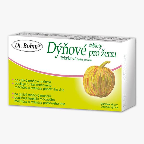 Dr. Böhm Dýňové tablety pro ženu 30 tbl.