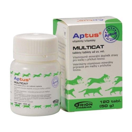 Aptus Multicat pro kočky 120 tbl.