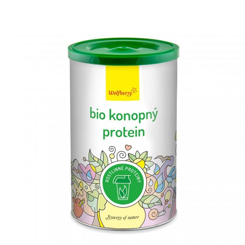Wolfberry BIO Konopný protein 180 g