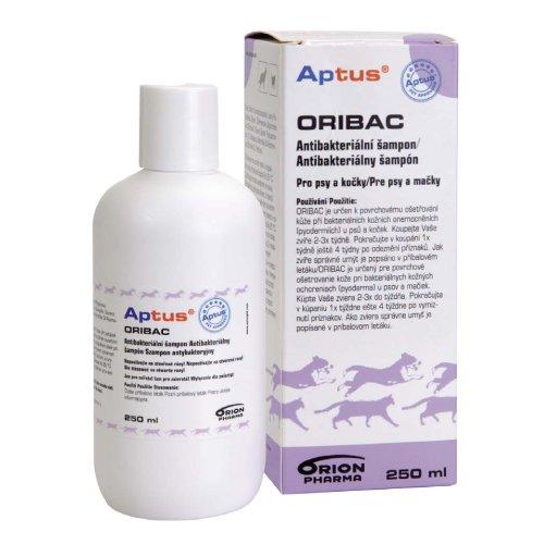 Aptus Oribac Antibakteriální šampon pro psy a kočky 250 ml