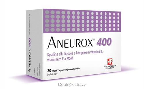 PharmaSuisse Aneurox 400 30 tbl. s postupným uvolňováním