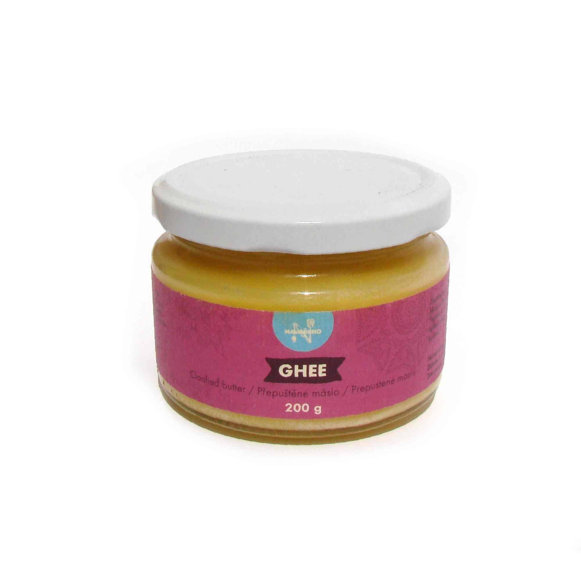 Navařeno Ghee - přepuštěné máslo 200 g
