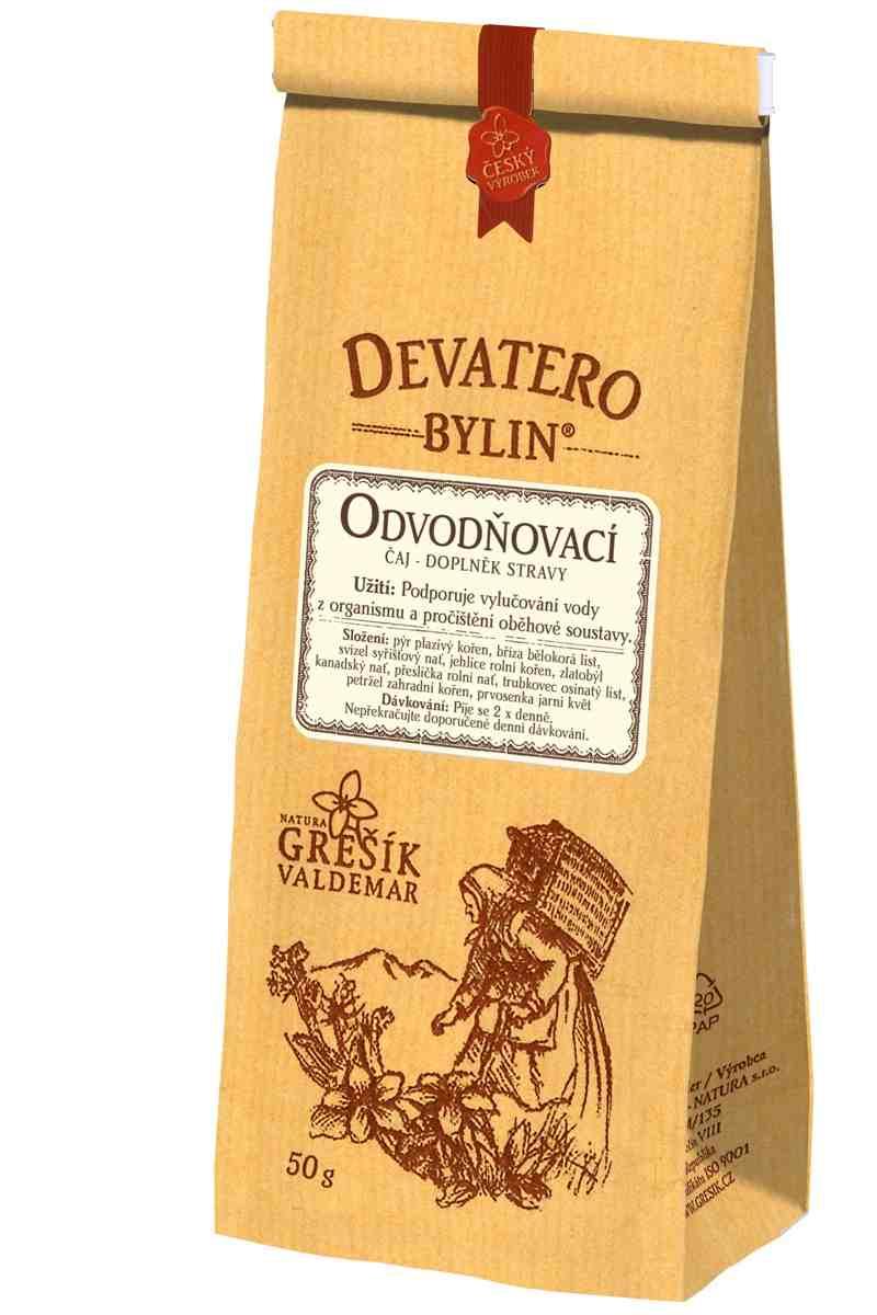 Grešík Odvodňovací čaj 50 g Devatero bylin