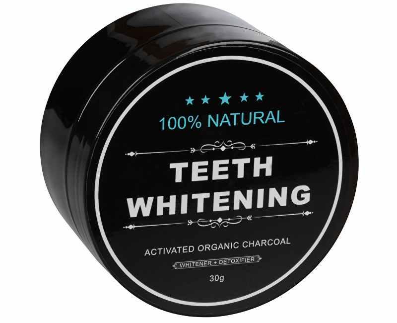EVA Cosmetics Bělící zubní pudr Charcoal 30 g