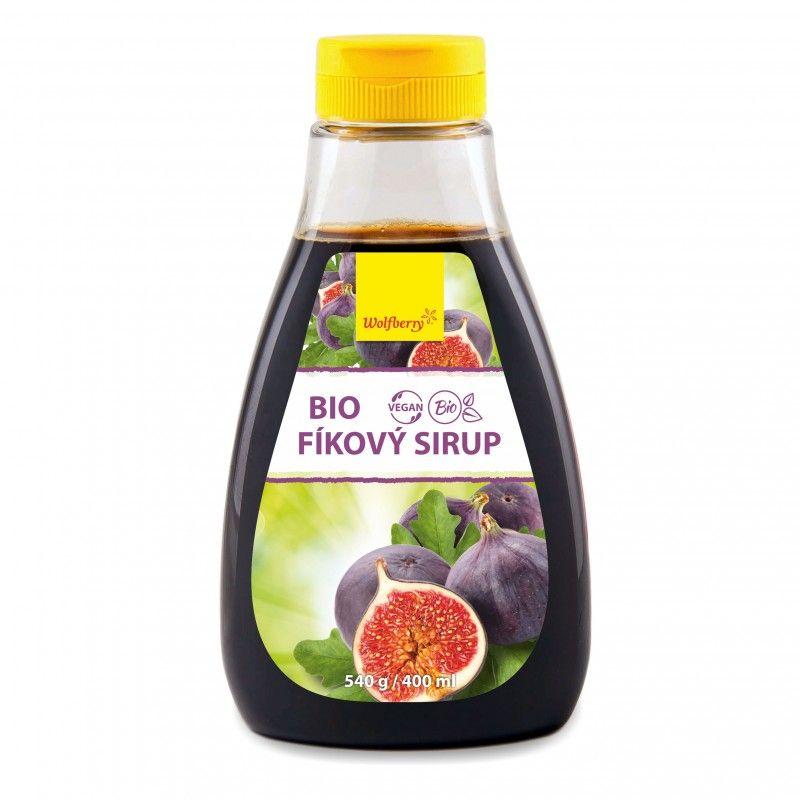 Wolfberry Bio Fíkový sirup 540 g