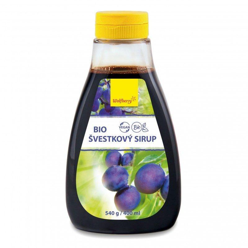 Wolfberry Bio Švestkový sirup 540 g