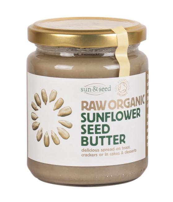 Sun & Seed BIO Slunečnicové máslo Raw 250 g
